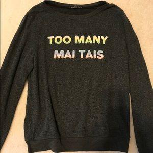 Too Many Mai Tais sweater